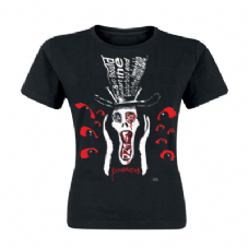 Girls Possessed Scream Head SF T-shirt
